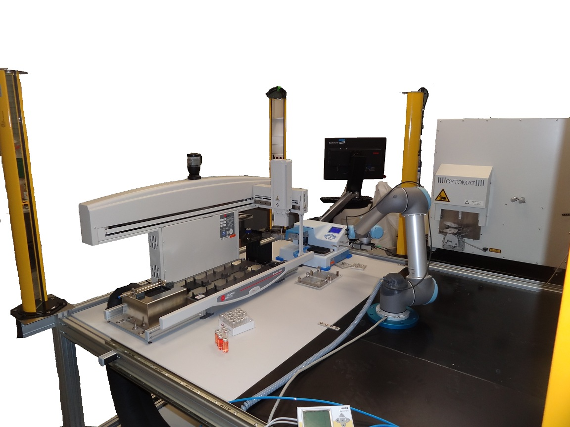 Workstation for assay plate production